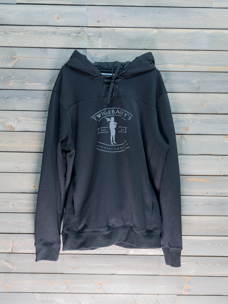 The Connor Hoodie (Black & Grey)