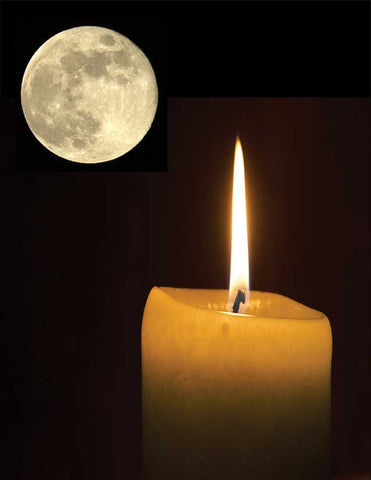 Full Moon Candle Spell Cast
