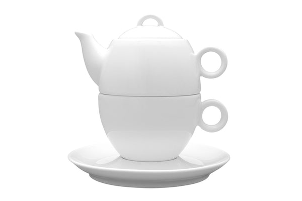 Tea Pot with Cup & Saucer
