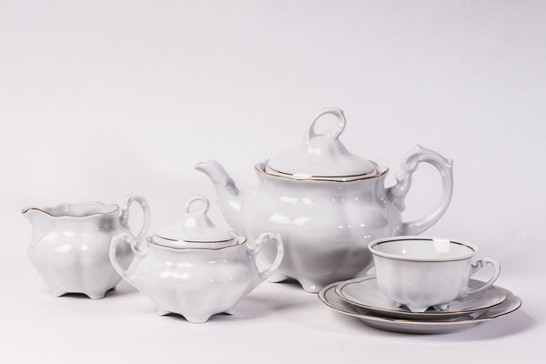 15-Piece Tea Set | Bolero - Diamond Fine Porcelain