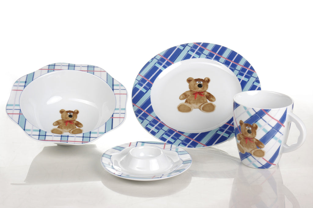 4-Piece Children's Porcelain Set - Diamond Fine Porcelain - 1