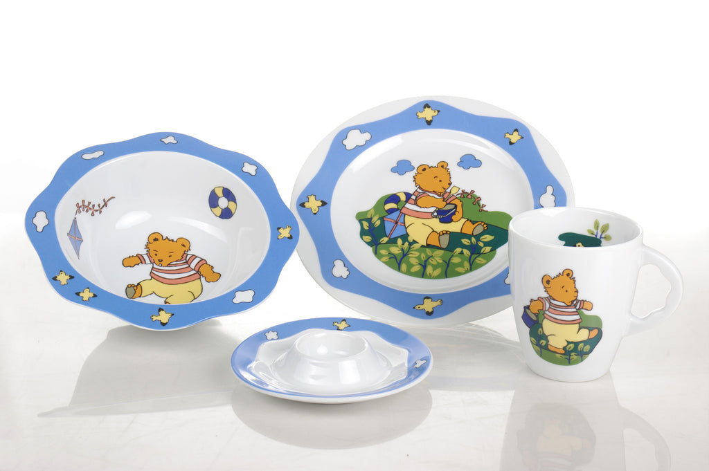 4-Piece Children's Porcelain Set - Diamond Fine Porcelain - 2