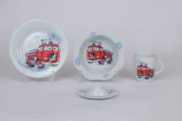 4-Piece Children's Porcelain Set