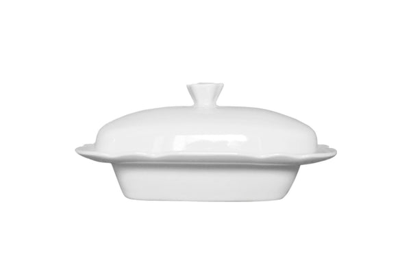 Butter Dish White | Feston
