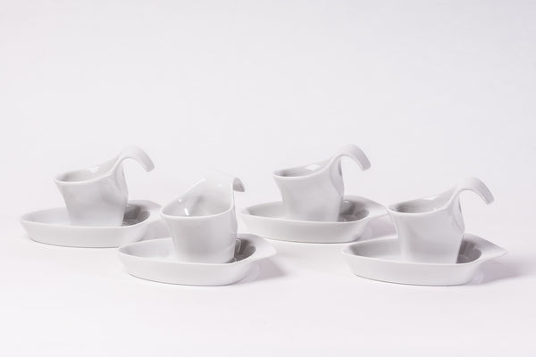 8-Piece Espresso Set | Future - Diamond Fine Porcelain