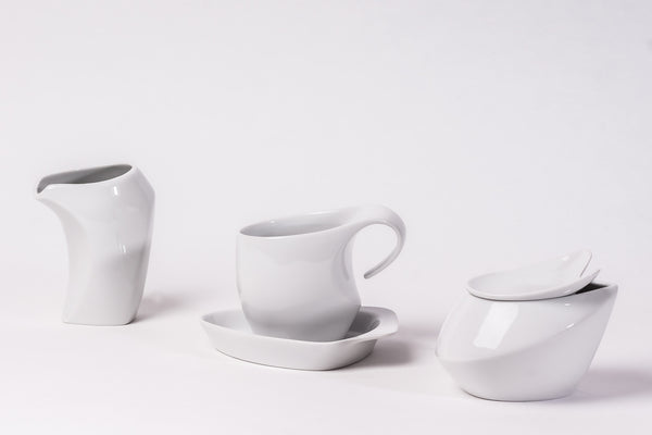 10-Piece Tea Set | Future - Diamond Fine Porcelain - 1