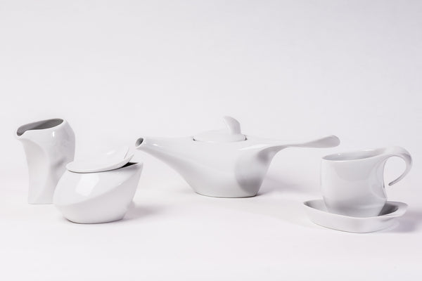 11-Piece Tea Set | Future - Diamond Fine Porcelain - 1