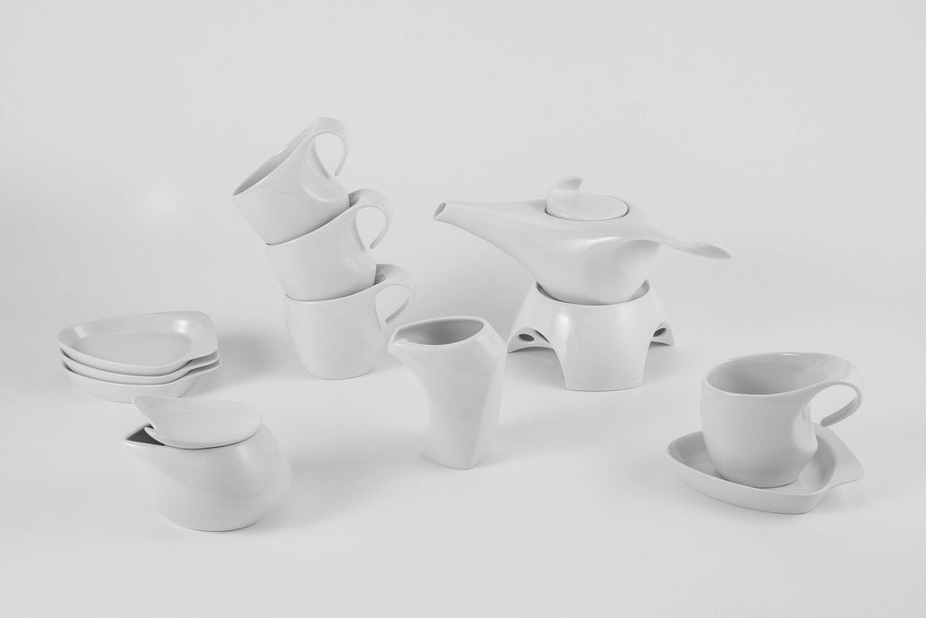 12-Piece Tea Set | Future - Diamond Fine Porcelain - 2