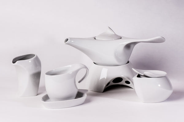 12-Piece Tea Set | Future - Diamond Fine Porcelain - 1