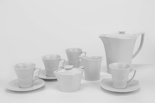 11-Piece Coffee Set | Happa - Diamond Fine Porcelain