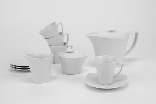11-Piece Tea Set | Happa - Diamond Fine Porcelain