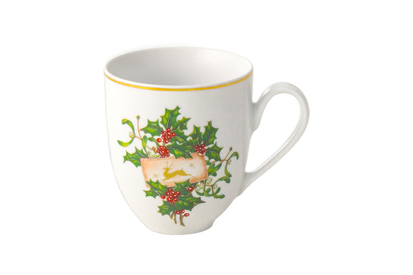 Christmas Mug 300ml | Holly