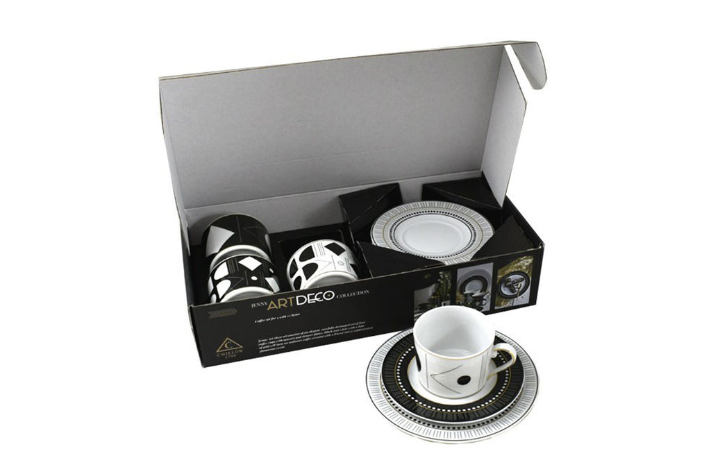 12-Piece Coffee Set | Art Deco
