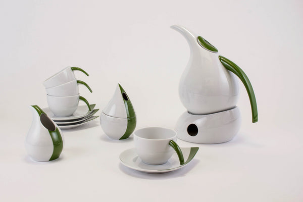 12-Piece Tea Set | Kropla - Diamond Fine Porcelain