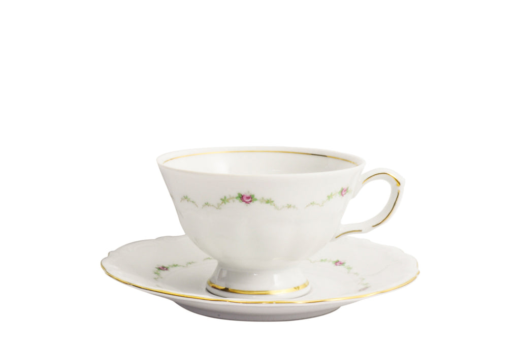 5-Piece Tea Set | Maria Teresa - Diamond Fine Porcelain - 2