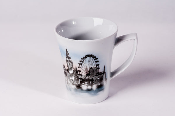 Mug 300ml London Eye - Diamond Fine Porcelain - 1