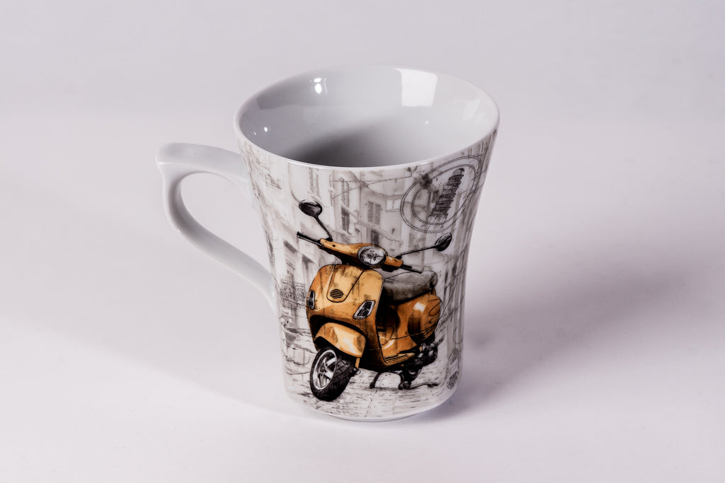 Mug 300ml Scooter - Diamond Fine Porcelain - 1