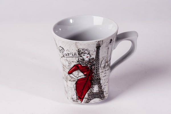 Mug 300ml Paris - Diamond Fine Porcelain - 1