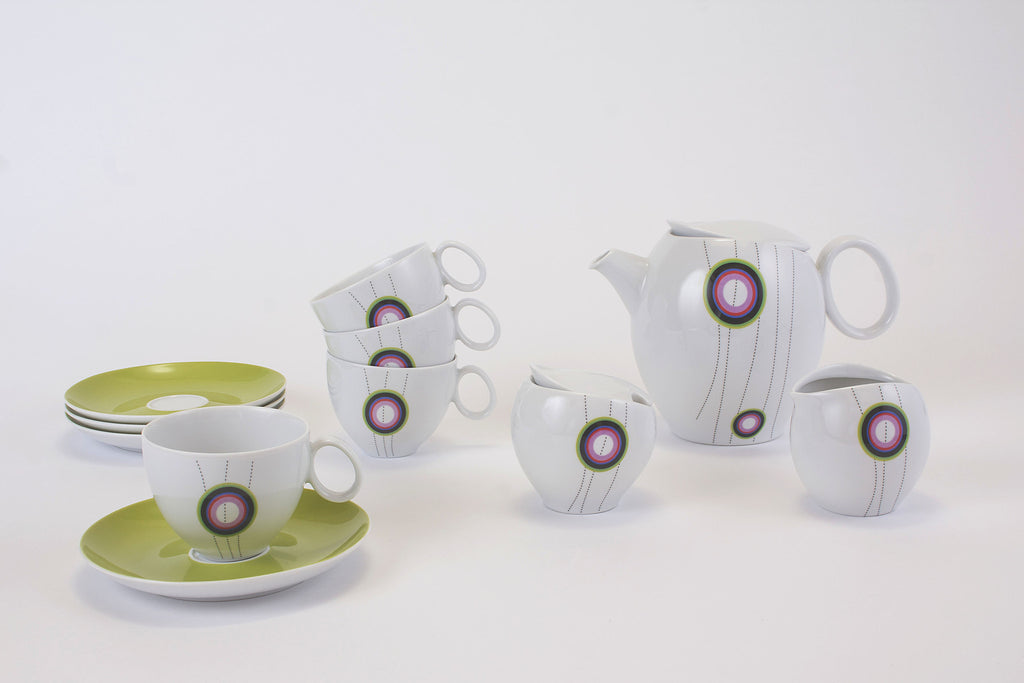 11-Piece Tea Set | Quebec - Diamond Fine Porcelain