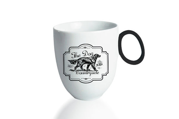 Mug 300ml Countryside | The Dog - Diamond Fine Porcelain - 1
