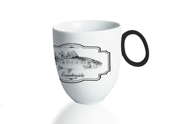 Mug 300ml Countryside | The Fish - Diamond Fine Porcelain - 1