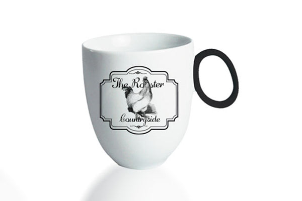 Mug 300ml Countryside | The Rooster - Diamond Fine Porcelain - 1