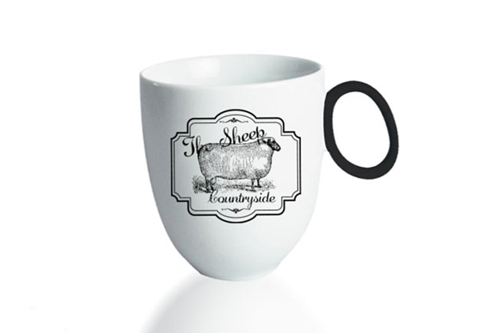 Mug 300ml Countryside | The Sheep - Diamond Fine Porcelain - 1