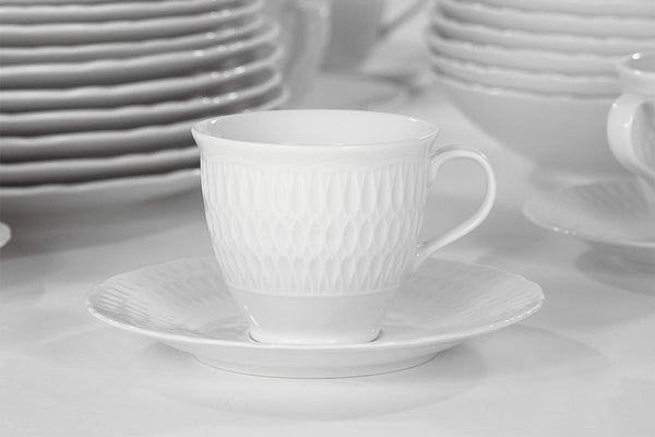 Set of 4 Cups & Saucers | Sofia