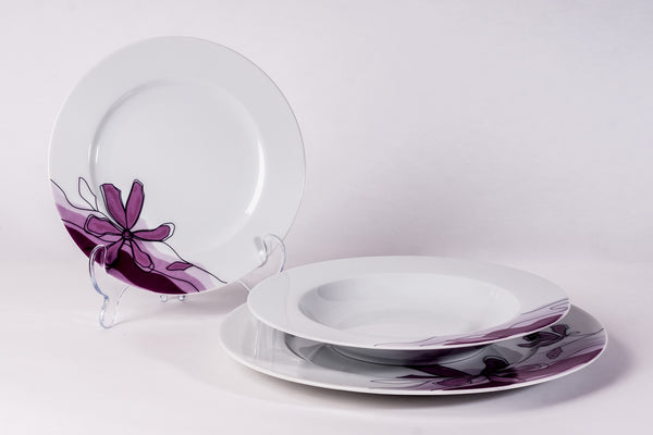 12-Piece Dinner Set | Venus - Diamond Fine Porcelain