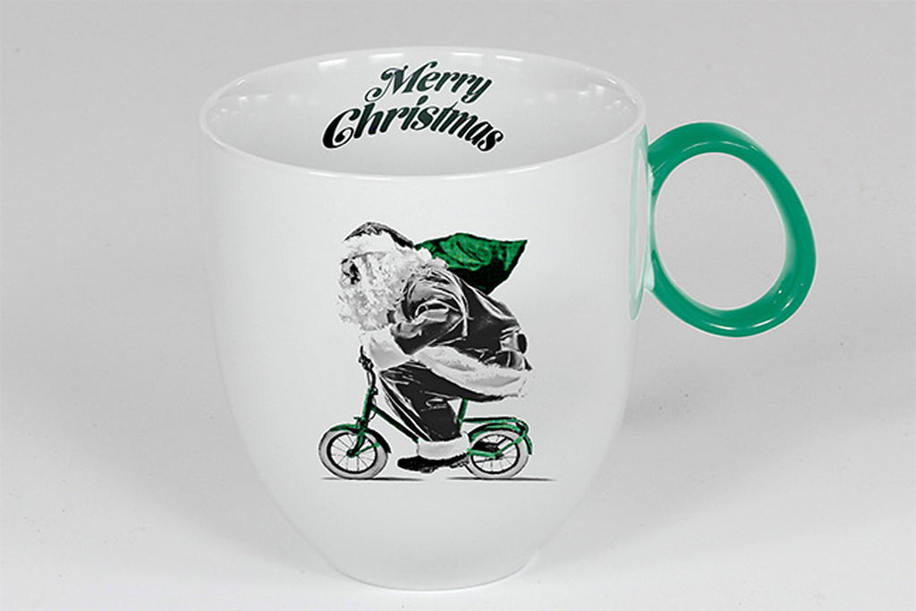 Christmas Mug 300ml | Santa - Diamond Fine Porcelain - 1