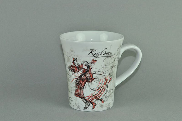 Mug 340ml Krakow | Cracow - Diamond Fine Porcelain - 1