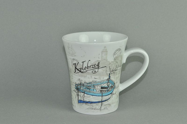 Mug 340ml Kolobrzeg - Diamond Fine Porcelain - 1