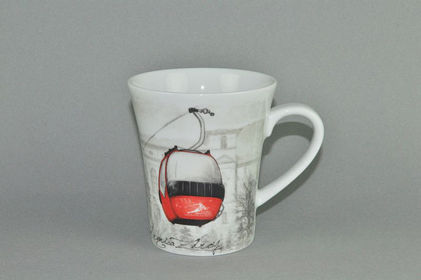 Mug 340ml | Krynica Zdroj - Diamond Fine Porcelain - 1