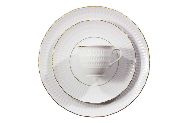 12-Piece Dinner Set | Gold Line | Sofia
