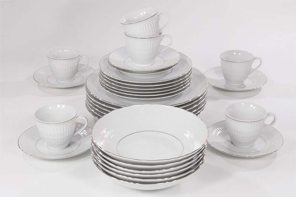 12-Piece Dinner Set | Platinum | Sofia