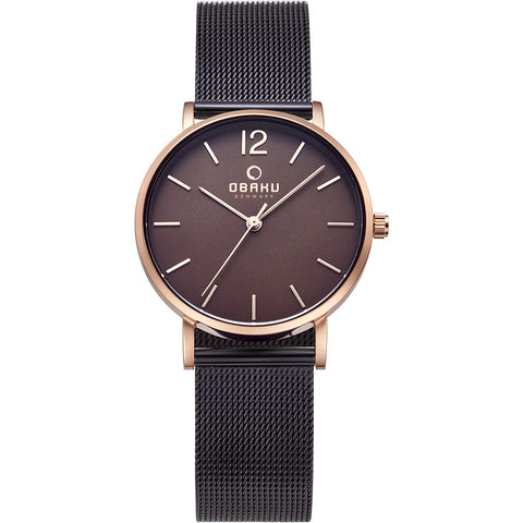 Obaku dameur. Mark - Lille Walnut.  V197LXVNMN