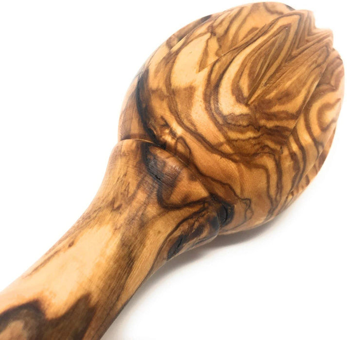 Olive Wood Citrus Lemon, Lime, and Orange Handmade Reamer Juicer Squeezer