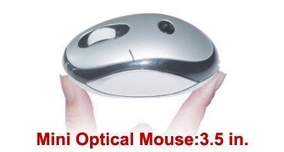 Battery Free Wireless Optical Mouse and a USB 2 ft. Wired Pad - Does Not Use Batteries Totally Green Environmentally Friendly Solution