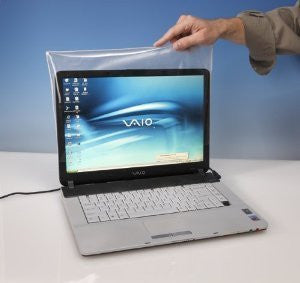 "Anti-Microbial Laptop Screen Covers 15"" W x 9.5"" H"