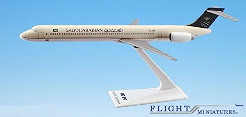 Saudi Arabian (97-Cur) MD-90 Airplane Miniature Model Plastic Snap-Fit 1:200 Part# AMD-09000H-004