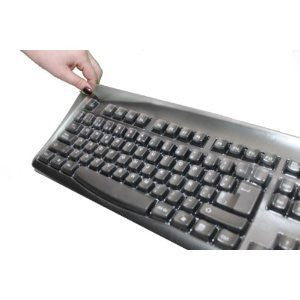 Keyboard Cover for Spanish, French, Italian, Uk, Swedish, Portugese, Greek, and German Simply Plugo Keyboards - Protect From Dirt, Dust, Liquids and Contaminants.