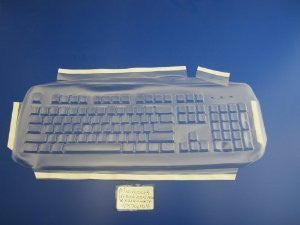 Viziflex's Biosafe Anti Microbial Keyboard cover fitting DELL models RT7D50, SK8115, L100
