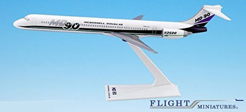 McDonnell Douglas Demo MD-90 Airplane Miniature Model Plastic Snap-Fit 1:200 Part# AMD-09000H-001