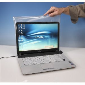 Viziflex Seels Inc Biosafe Anti-Microbial Laptop Screen Cover AMLSC01
