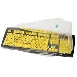 Biosafe Antimicrobial Keyboard Cover For Keys U See Keyboard Keeps Out Dirt Dust Liquids and Contaminants - Keyboard not Included
