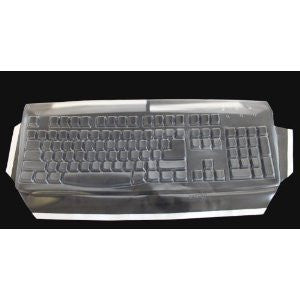 Biosafe Anti Microbial Keyboard Cover for Keytronic E03601QL-C,Keeps Out Dirt Dust and Contaminants - Keyboard not Included - Part#23D104