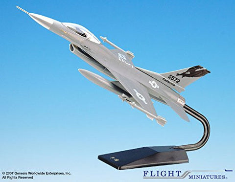 Flight Miniatures California Air National Guard AGD-00160A-001 General Dynamics F-16 1:48 Scale
