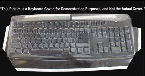 Keyboard Cover for Dell U473D Slim Multimedia Keyboard; Keeps Out Dirt Dust Liquids and Contaminants - Keyboard not Included