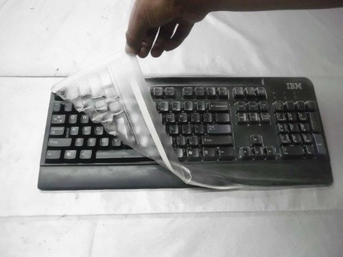 Viziflex's Biosafe Anti Microbial Keyboard cover fitting IBM / Lenovo models