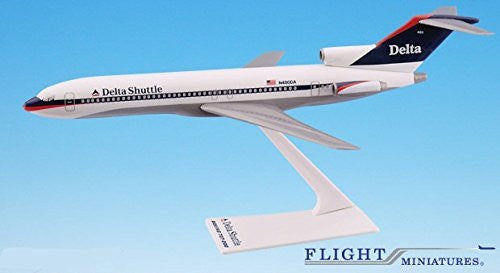 Delta Shuttle (97-00) Boeing 727-200 Airplane Miniature Model Plastic Snap Fit 1:200 Part# ABO-72720H-033